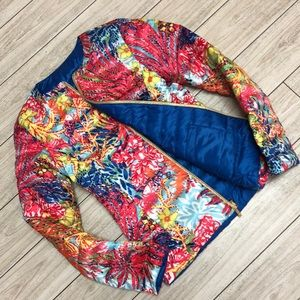 Lilly Pulitzer reversible down jacket never worn S